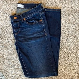Madewell skinny skinny jeans. Size 26. Dark rinse